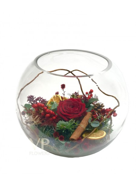 Christmas Bowl Arrangement