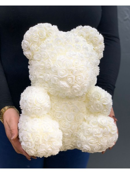 Large ''Foam Rose'' Teddy