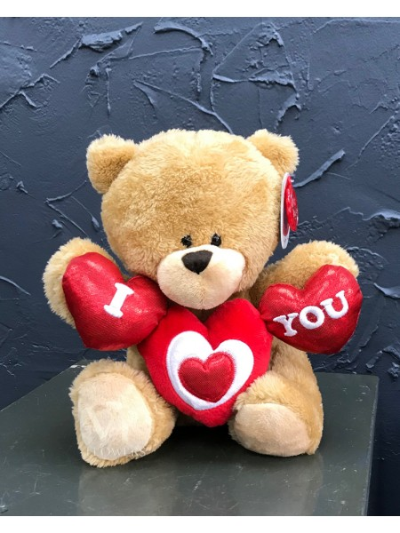 Small 'I Love You' Teddy