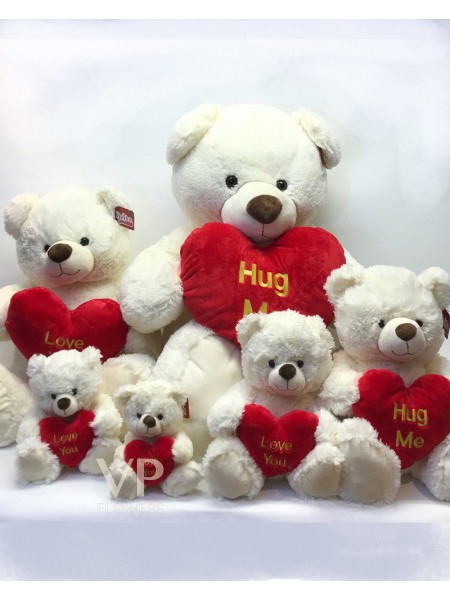 Love Heart Teddies