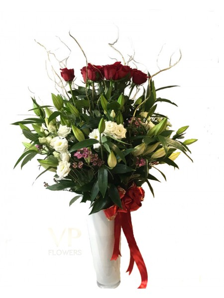Luxury Rose & Lily Bouquet