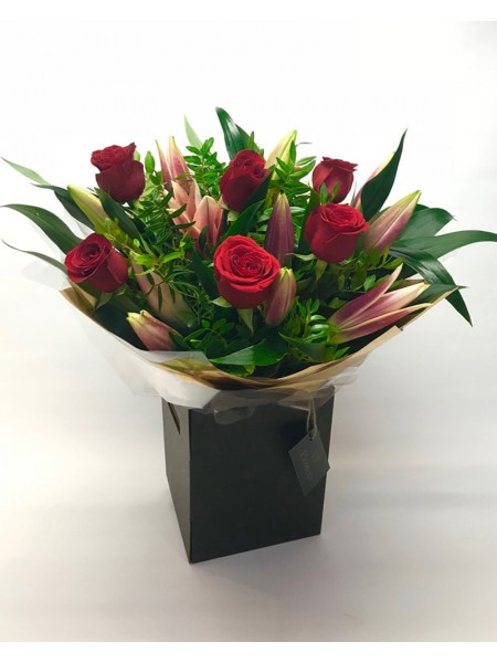 Lily and Rose Hand-tied
