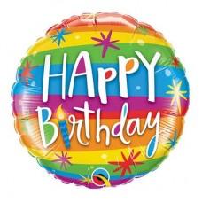 Happy Birthday Balloon Multicolour