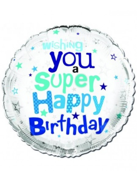 Wishing You a Supper Happy Birthday