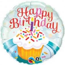 Happy Birthday Cup Cake