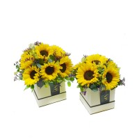 Sunflower Hatbox