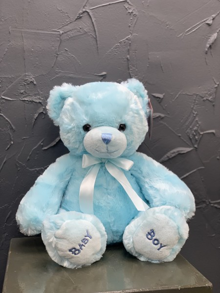 Baby Boy Medium Teddy