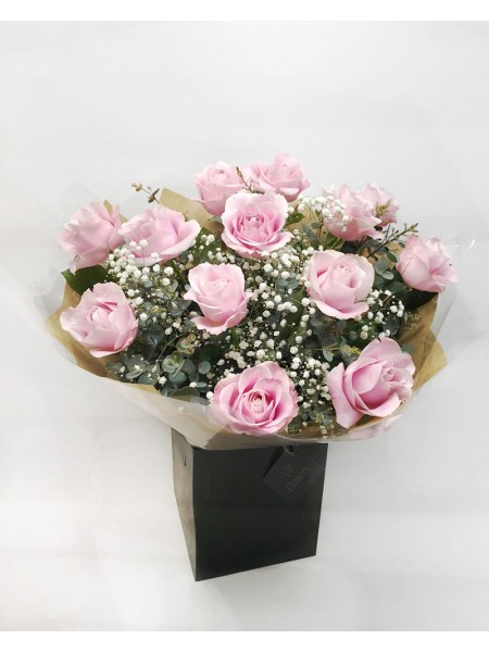 Pink Roses by ''VP Flowers''