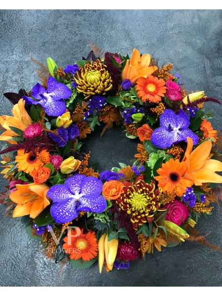 Florist Choice Funeral Wreath