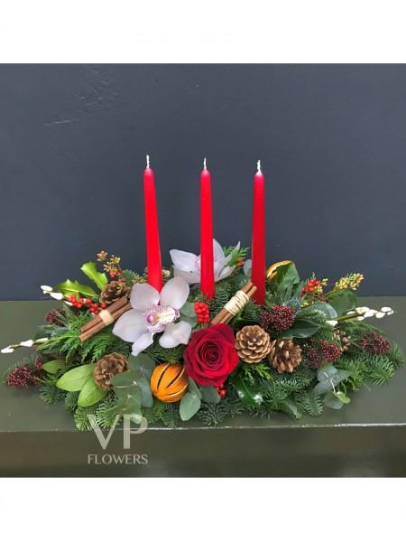 Festive Vibes Christmas Arrangement
