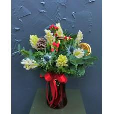 Merry Christmas Vase