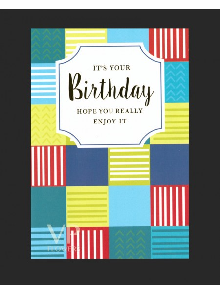 Happy Birthday Card (no.8)