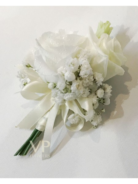 Gypsophila and White Lisianthus